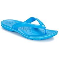 Zapatos Chanclas Crocs CROCBAND FLIP Azul