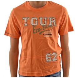 textil Niños Camisetas manga corta Diadora  Naranja