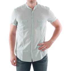 textil Hombre camisas manga corta Antony Morato - Verde claro