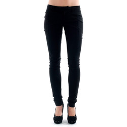 textil Mujer pantalones chinos Amy Gee AMY04309 Negro