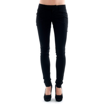 textil Mujer pantalones chinos Amy Gee - Negro
