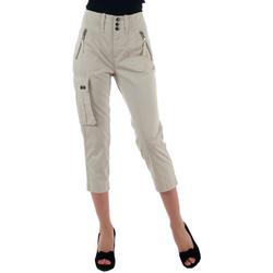 textil Mujer Pantalones cortos Diesel  Blanco roto