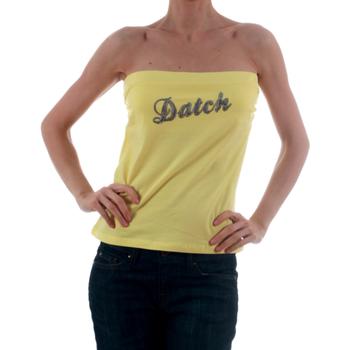 textil Mujer camisetas sin mangas Datch  Amarillo
