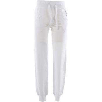 textil Hombre Pantalones de chándal Frankie Garage FGE02006 Blanco