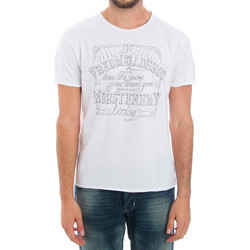 textil Hombre camisetas manga corta Fred Mello FMCLA99TG_BIANCO Blanco