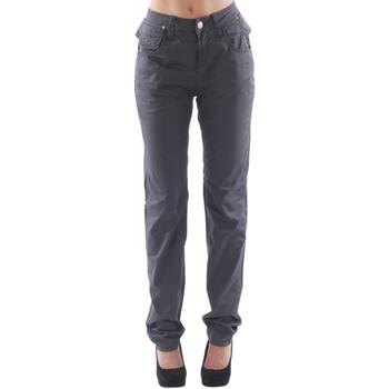 textil Mujer Pantalones con 5 bolsillos Fornarina FOR08001 Morado