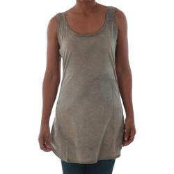 textil Mujer camisetas sin mangas Fornarina BILSTON_GOLD Marrón