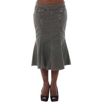 textil Mujer Faldas Fornarina DUNDEE_SMOG Verde