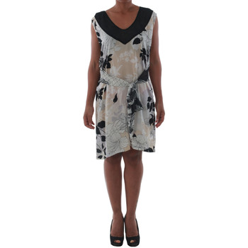 textil Mujer Vestidos cortos Fornarina ELISE_HIVORY Estampado