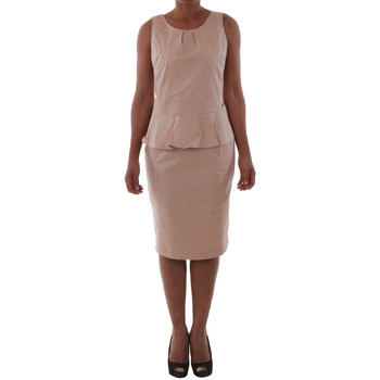 textil Mujer vestidos cortos Fornarina SAYDA_POWDER Rosa