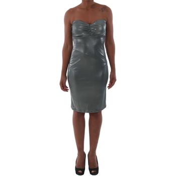 textil Mujer vestidos cortos Fornarina EMILIE_PLUS_SILVER Verde
