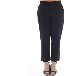 textil Mujer pantalones chinos Gas GAS01164 Negro