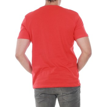 Jack & Jones 12133573 JCOMULE TEE CREW NECK SS FIERY RED/JP.1L.REGULAR Rojo