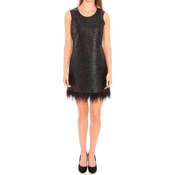 textil Mujer vestidos cortos Liu Jo F65029T8222_22222 Negro