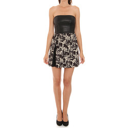 textil Mujer vestidos cortos Liu Jo C65191T1539_Z9528 Negro