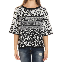 textil Mujer jerséis Liu Jo F65252MA308_Y9004 Blanco