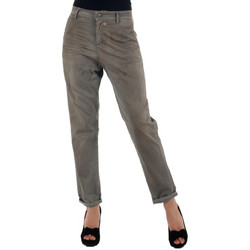 textil Mujer pantalones chinos Miss Sixty  Gris