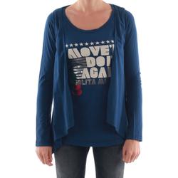 textil Mujer Camisetas manga larga Nolita NOL03089 Azul