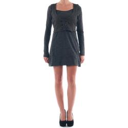 textil Mujer vestidos cortos Nolita  Gris oscuro