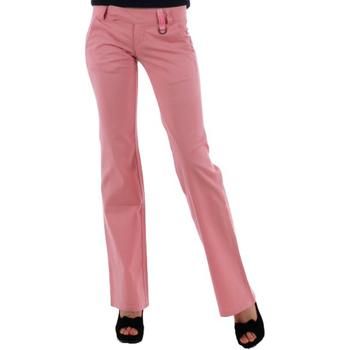textil Mujer pantalones chinos Phard  Rosa
