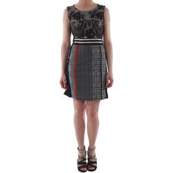textil Mujer vestidos cortos Rinascimento 82008_NERO Negro