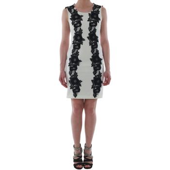 textil Mujer vestidos cortos Rinascimento 1260/16M_PANNA_BIANCO Blanco roto
