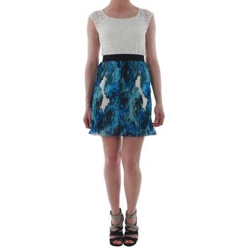 textil Mujer vestidos cortos Rinascimento 1276/16M_BLU Blanco