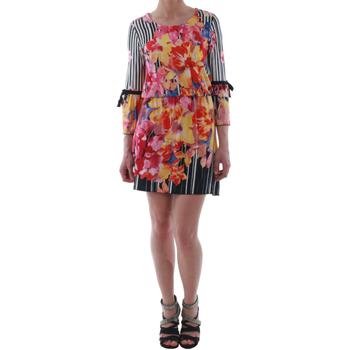 textil Mujer vestidos cortos Rinascimento 1330/13A_BIANCO Estampado
