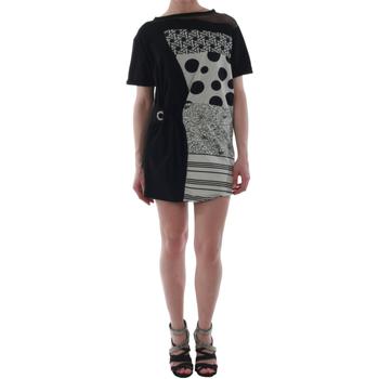 textil Mujer vestidos cortos Rinascimento 82024_NERO Negro