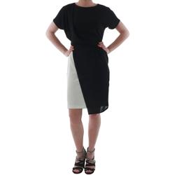 textil Mujer vestidos cortos Rinascimento MIRANDA_BIANCO Negro