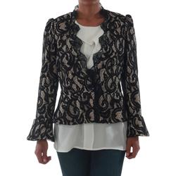 textil Mujer Chaquetas / Americana Rinascimento 7643_BEIGE Negro