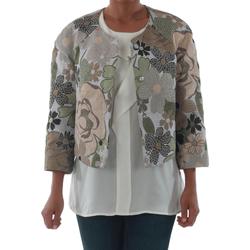 textil Mujer Chaquetas / Americana Rinascimento 82012_VERDE Verde