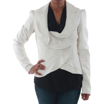 textil Mujer Chaquetas / Americana Rinascimento 7690_BIANCO Blanco