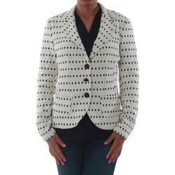 textil Mujer Chaquetas / Americana Rinascimento 182023_BIANCO Blanco roto