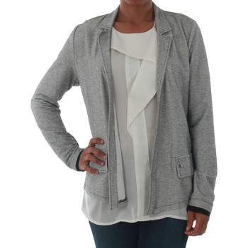 textil Mujer Chaquetas / Americana Rinascimento PE450_NERO Plateado