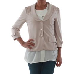 textil Mujer Chaquetas / Americana Rinascimento 1022_BEIGE Beige