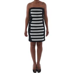 textil Mujer vestidos cortos Rinascimento 322B.012_BIANCO Negro