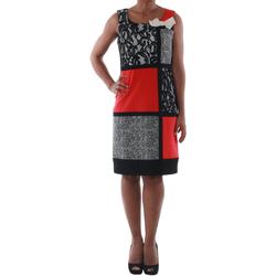 textil Mujer vestidos cortos Rinascimento 7616A/B_CORALLO Negro