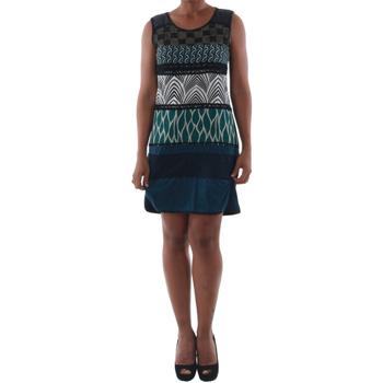 textil Mujer vestidos cortos Rinascimento 82029_BLU Azul marino