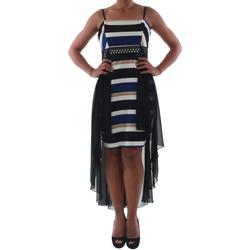textil Mujer vestidos cortos Rinascimento PAINT/R_BLU Negro