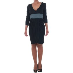 textil Mujer vestidos cortos Silvian Heach  Negro