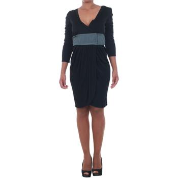 textil Mujer vestidos cortos Silvian Heach SIL13565 Negro