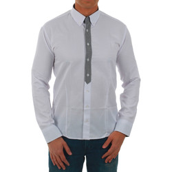 textil Hombre camisas manga larga Sz Collection Man  Blanco