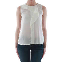 textil Mujer camisetas sin mangas Sz Collection Woman WCS_1233_WHITE Blanco roto