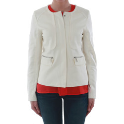 textil Mujer Chaquetas / Americana Sz Collection Woman WXZ_7906_OFFWHITE Blanco roto