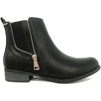 Zapatos Mujer Botas de caña baja Cassis Côte d'Azur LUTY  Boots Noir a talons Negro