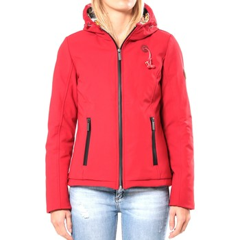 textil Mujer cazadoras 80DB Original Blouson ML Capuche - Ecouteurs inclus 80DB Sally Deep Red Rojo