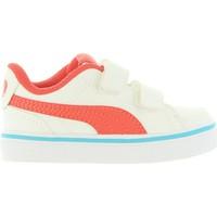 Zapatos Niños Zapatillas bajas Puma 362949 COURT Blanco