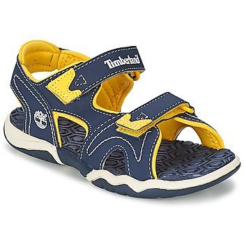 Zapatos Niños Sandalias Timberland ADVENTURE SEEKER 2-STRAP SANDAL Azul