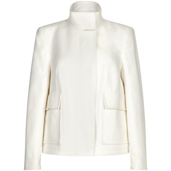 textil Mujer Chaquetas / Americana Anastasia -Women`s Cream Short Winter Jacket White